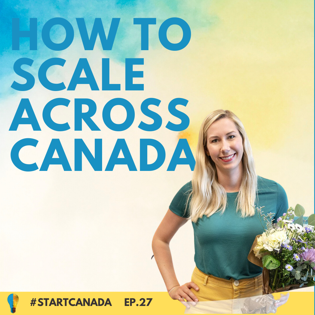 Callia Flowers on Start Canada Podcast