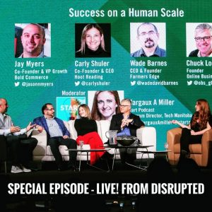 Start Podcast Live at Disrupted