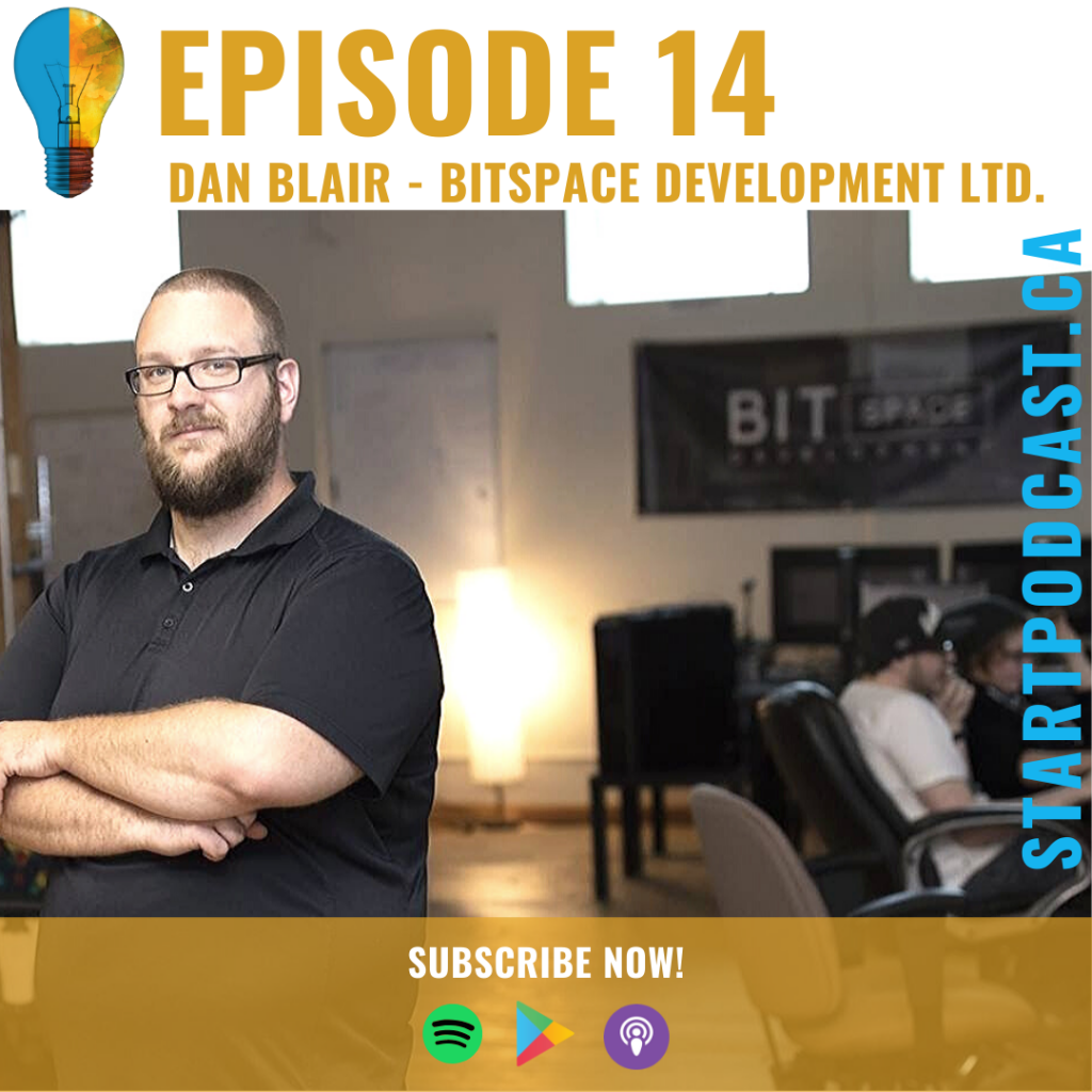 Dan Blair Bitspace Dev Founder on Start Podcast