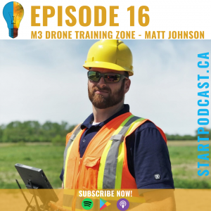 Start Podcast Matt Johnson M3 Aerial