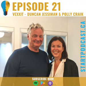 Duncan Jessiman and Polly Craik on Start Podcast