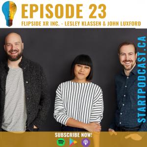 Flipside XR Inc. on Start Podcast