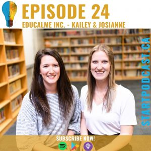 Educalme Inc. on Start Podcast