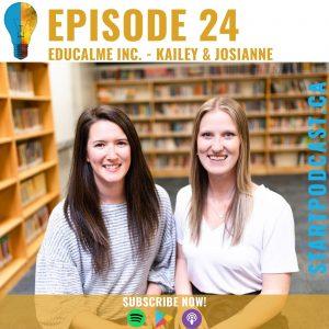 Educalme Inc. on Start Podcast
